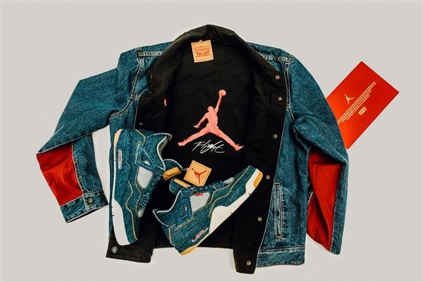 リーバイス×ジョーダンコラボのスニーカー・ジャケットの購入代行