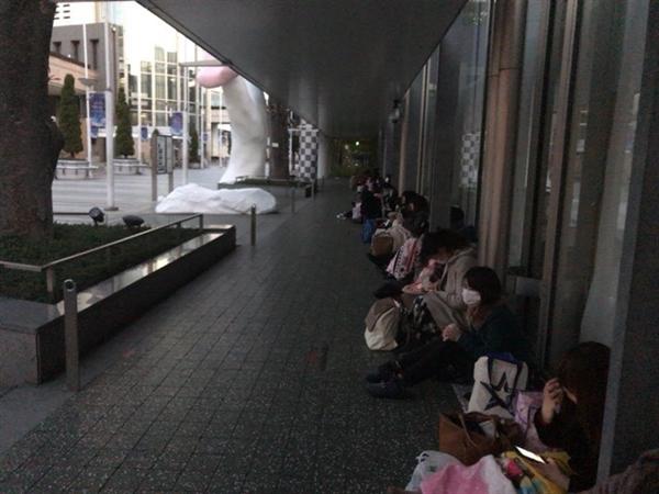 ドリフェス!の並び&グッズ購入代行をするため東京ドームシティへ