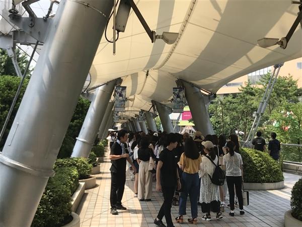 東京ドームシティにてSUPER DRAGON(スパドラ)のCD購入代行