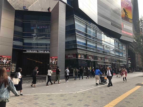 TOHOシネマズ新宿にて映画「トラさん」の並び代行&ムビチケ購入代行
